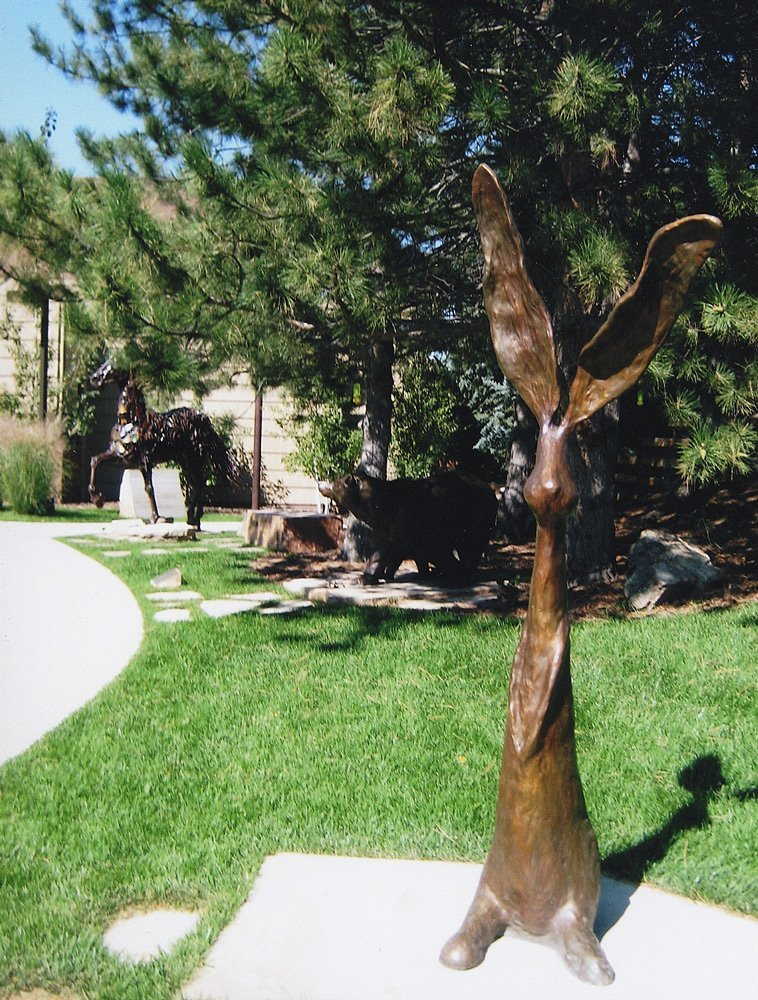Chauncey 84 Inch Height - Lean' in Tree Museum - Boulder CO